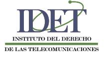 IDET : Instituto del Derecho de las Telecomunicaciones