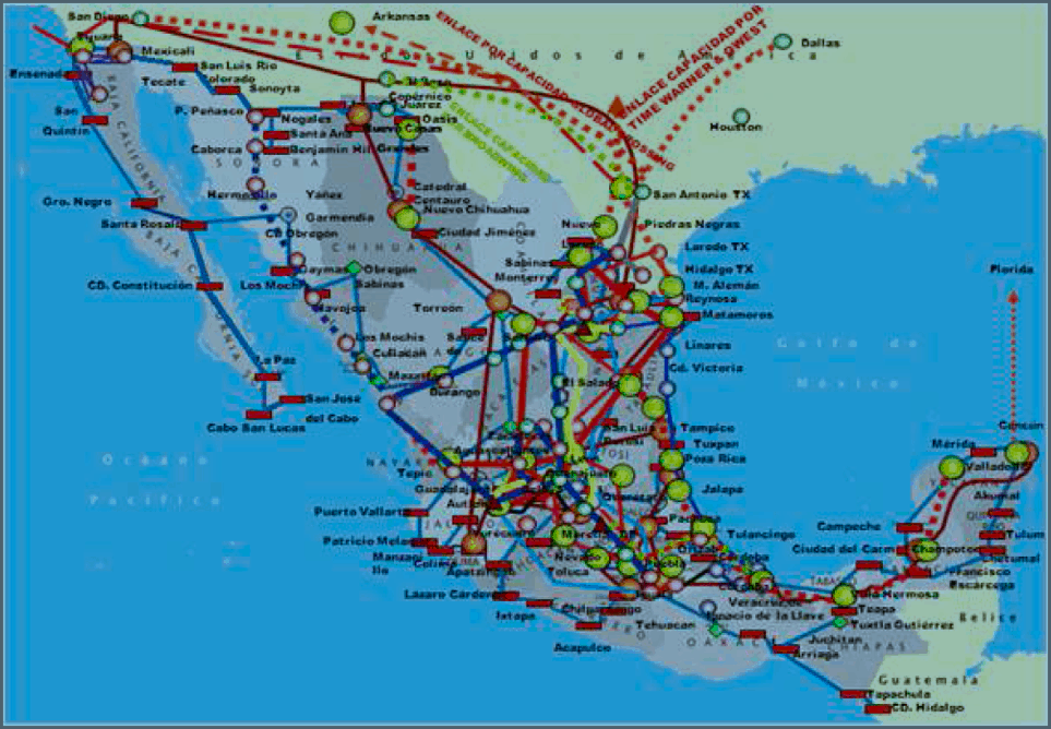 Mapa Cobertura Fibra Optica.Fibra Optica Camino Para Mas Competencia Idet