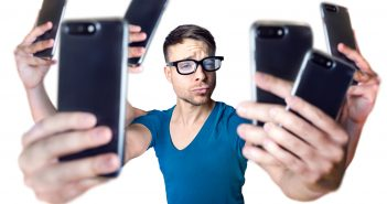 De acuerdo concientíficos, la pantalla de un teléfono móvil essiete veces más suciaque la tapa de uninodoro.